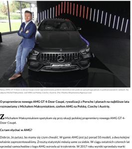 Michał Maksymiuk AMG Polska