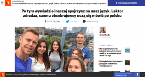 rozmowa wywiad Łukasz Załuski lektor dziennikarz nauczyciel
