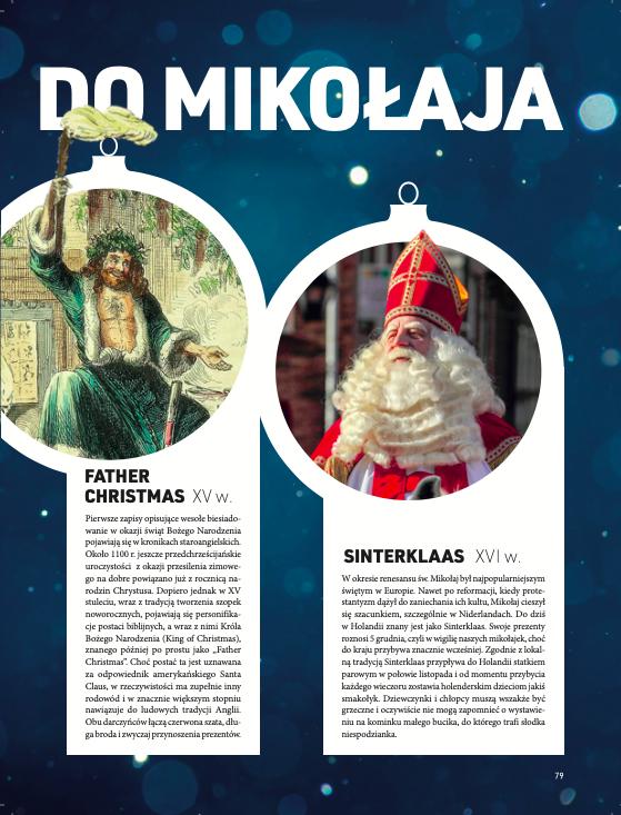 Santa Claus Święty Mikołaj Focus Historia