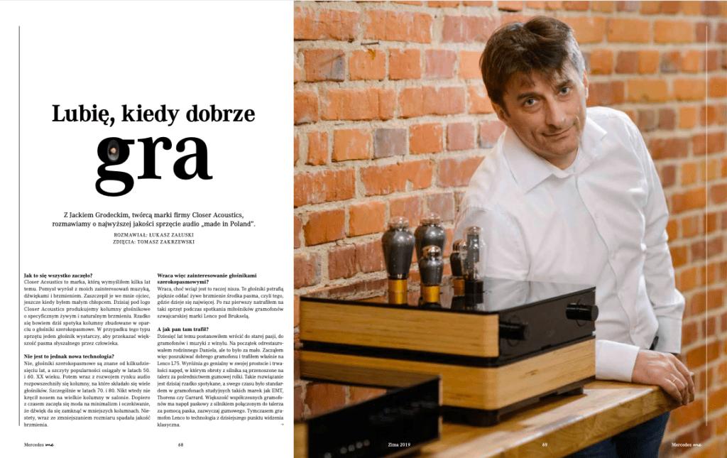 Jacek Grodecki Close accoustic wywiad