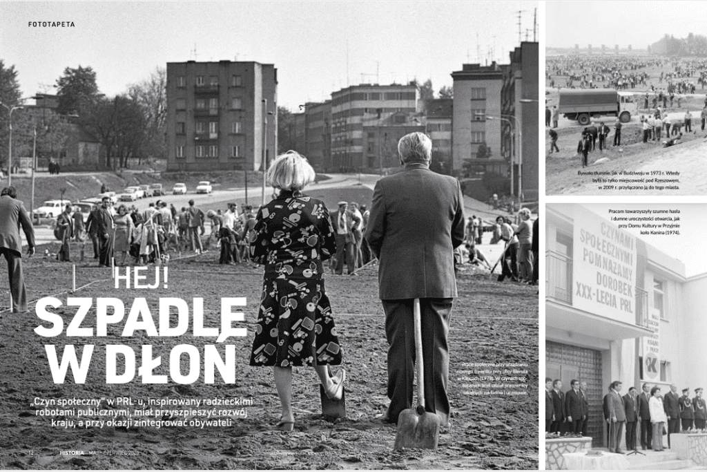 czyn społeczny PRL Focus Historia