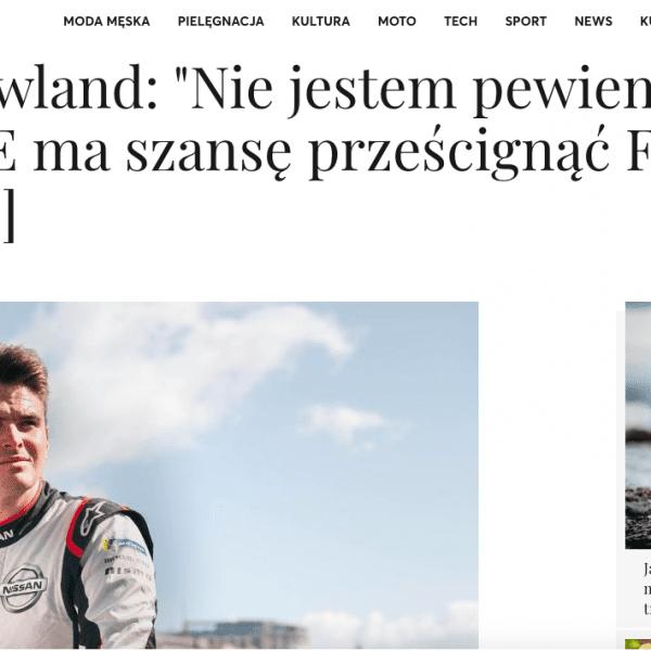 Olivier Rowland interview