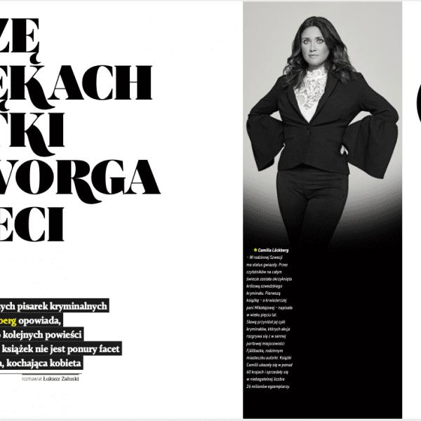 Camilla Lackberg wywiad interview